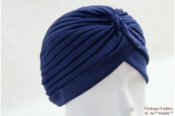 Turban navy blue stretch 53 - 59 [new]