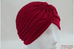 Turban burgundy stretch 53 - 59 [new]