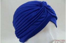 Turban blue stretch 53 - 59 [new]