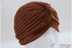 Turban brown stretch 53 - 59 [new]