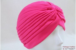 Turban fucsia pink stretch 53 - 59 [new]