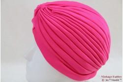 Turban fucsia pink stretch 53 - 59 [new]