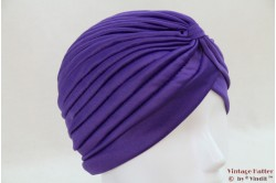 Turban purple stretch 53 - 59 [new]