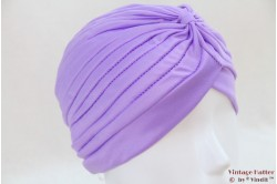 Turban lila purple stretch 53 - 59 [new]