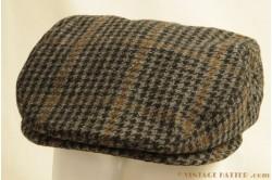 Flatcap Göttmann grey tweed 53