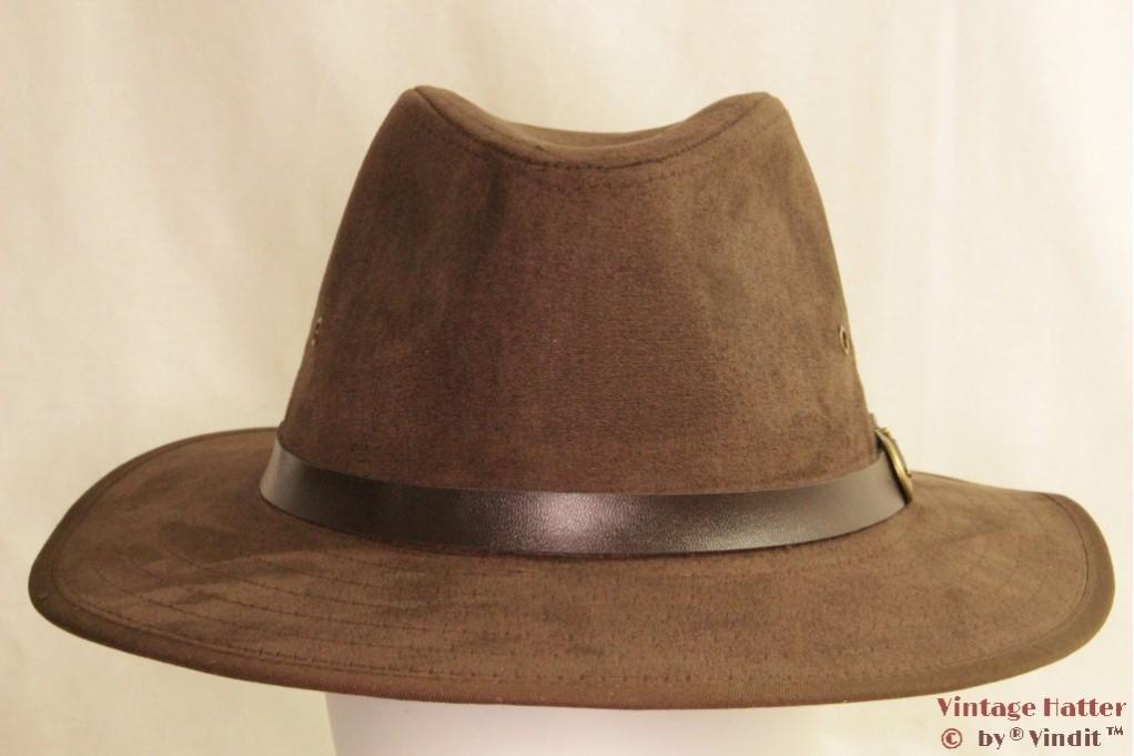 Outdoor hat Hawkins faux suede brown 56 [new]
