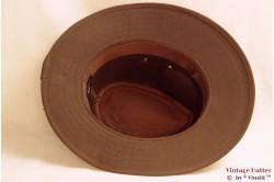 Outdoor hat Hawkins faux suede brown 58,5 [new]