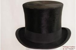 Tophat M.E. Donker black silk 55
