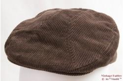 Flatcap AGW brown corduroy 55