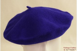 Alpino Baret saffier blauw geweven 53-59 [nieuw]
