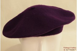 Alpino Baret deep purple woven 53-59 [new]