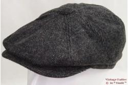 Paperboy cap Hawkins grey herringbone 59 [new]