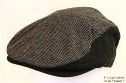 Flatcap Hawkins black checkered 58 [new]