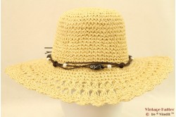 Beach hat Hawkins with leather lace 56 [new]