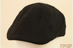 Flatcap Hawkins black cotton 59,5 [new]