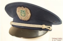 Uniform cap blue with silver 56