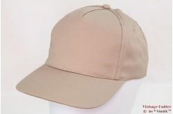 Baseball cap kaki beige with velcro 53-60 [new]