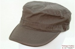 Army Cap grey cotton 54-60 [new]