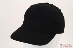 Baseball cap black with velcro 53-60 [new]