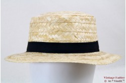 Boater hat straw size 55 [new]