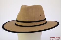 Outdoor fedora Hawkins beige brown linnen 61 [new]