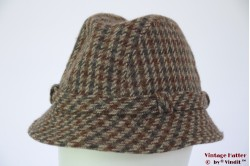 Fisherman's hat Casual&Master beige brown with blue 57