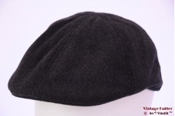 Flatcap with panels blackish grey 57 [new]