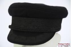 Captain's cap Prinz Heinrich black 53 (XXS)