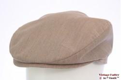Flatcap beige summer 59