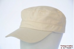 Army cap soft light beige cotton 53-60 [new]