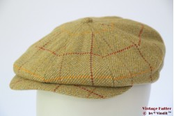Paperboy cap Hawkins 'Gatsby' light green tweed 59 [new]
