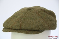 Paperboy cap Hawkins 'Gatsby' dark green tweed 60 [new]