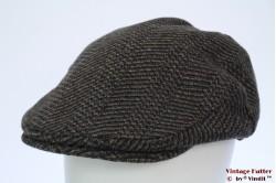 Flatcap Hawkins dark blue with beige 61 [new]