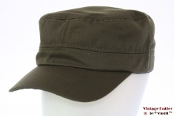 Army cap green cotton 53-60 [new]