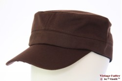 Army cap brown cotton 53-60 [new]