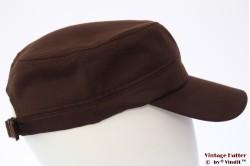 Legerpet bruin katoen 53-60 [nieuw]