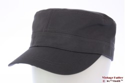 Army cap dark grey cotton 53-60 [new]