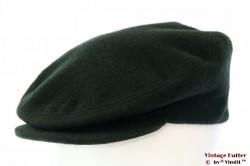Platte pet Henry's Cap groen wol & kasjmir 59