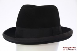 Homburg Windsor black felt 57