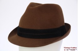 Classic trilby Mayser Junior Trophy orange brown 57