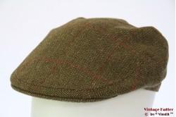 Platte pet Musto groen tweed 57