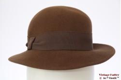 Ladies hat Mayser beige brown 53 (XXS)