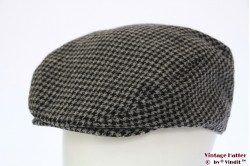 Flatcap grey dogtooth 58
