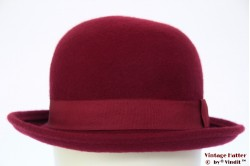 Softtop Bowler burgundy red 57