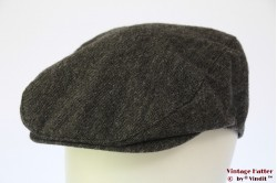 Flatcap grey cotton 60 (XL)