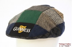 Flatcap Guinness blue green grey patchwork 58-62 (L-XXL) [as new]