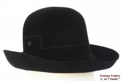 Ladies hat Hüt Zeümer black velvet 56