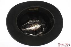 Homburg Wegener zwart vilt 56,5