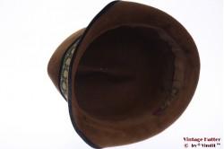 Ladies hat Mayser Modell brown velour 56