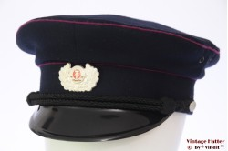 Uniform hat VEB (DDR) dark blue with pink lining 56
